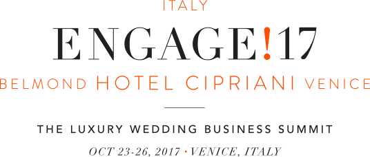 join us at Belmond Hotel Cipriani Venice for Engage!17 Italy, the luxury wedding business summit