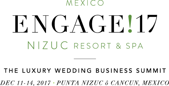 join us in Mexico for Engage!17 Nizuc, the luxury wedding business summit