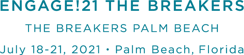 Join us in Palm Beach for Engage!21 The Breakers, the luxury wedding business summit